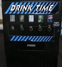 Drink Time Vending Machine Amazing DUNDAS DRINK TIME Soda Beverage Vending Machine 4848 PicClick