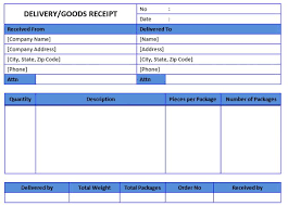 Free Receipt Template Sample Business Template Free