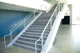concrete stair treads precast century closed riser tread at public school facility concrete stair treads