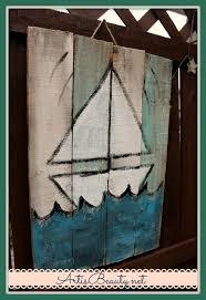 Pallet Art Art Is Beauty Beachy Summer Handmade Signs Made From Free Pallet