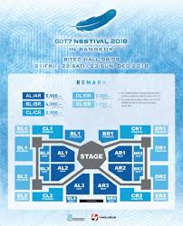 Got7 Nestival 2018 In Bangkok 3days 20kseats 60ktotal