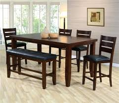 Narrow Dining Table Bench Small Room With Chairs