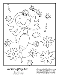 The combined file includes all the pictures below and we've combined all the summer coloring sheets pictured above into one easy to download pdf file. Free Coloring Pages For Girls Personalized From Frecklebox Frecklebox
