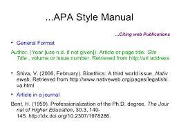 Apa Format For Dissertation Essay Sample October 2019