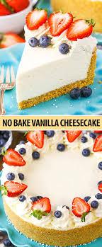 perfect no bake cheesecake recipe