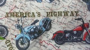 100% cotton Quilting fabric 1/2 yard motorcycle biker Harley & Like this item? Adamdwight.com