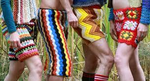 Crochet Mens Shorts Pattern