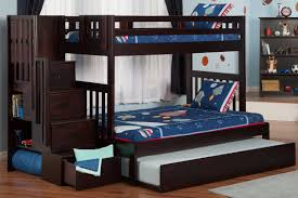 Bunk Bed With Couch And Desk Bunk Beds Twin Over Full L Shaped Bunk Bed With Stairs Bunk Beds