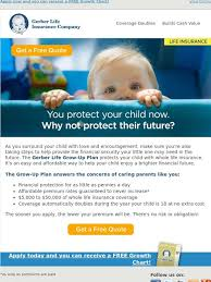 Gerber Growth Chart Gerber Life Insurance Why Not Protect Their Future With The