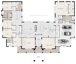 amazing u shaped home floor plan friday 5 bedroom family with pool courtyard australium nz design image modular container