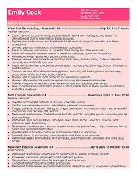Medical Assistant Resume Templates And Job Tips Hloom