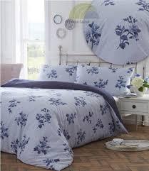 emma duvet cover set blue double