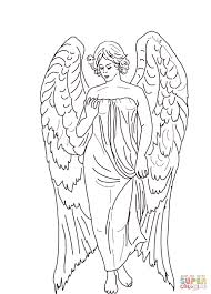 Small Picture Guardian Angel coloring page Free Printable Coloring Pages