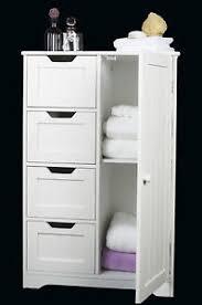 Slim Bathroom Storage Simple Elegant Bathroom With Slim White