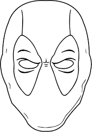Good deadpool coloring pages 39 for coloring print with deadpool. Awesome Black White Outline Deadpool Coloring Page Chibi Coloring Pages Coloring Pages Love Coloring Pages