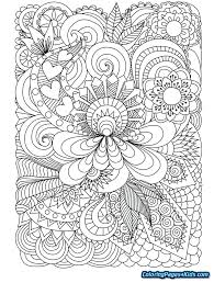 Intricate Coloring Pages Printable Printable Coloring Pages