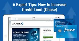 ask for a credit limit increase 6 expert tips how to increase credit limit chase cardrates com