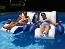 intex inflatable lounge chair. Intex Pool Floating Recliner Inflatable Lounge Float Chair 2 Cup Holders