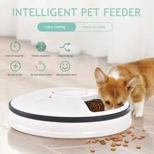 <b>Automatic Pet Feeder</b> LCD Smart Cat <b>Dog Feeder</b> Anti-Card Food ...