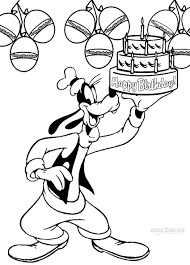 Free Disney Goofy Coloring Pages Disney Goofy Coloring Pages Free