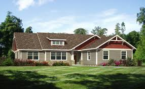 Classic ranch homes are generally one story, low ceiling homes that  emphasize horizontal patterns.