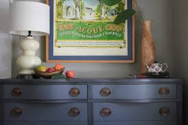 Two tone furniture painting Grey Annie Sloan Furniture Painting Simpler Design Trying Out Annie Sloans Black Wax Two Toned Dresser Simpler