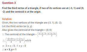 coordinate geometry cbse class extra questions solutions  coordinate geometry cbse class 10 extra questions solutions