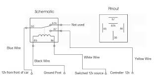 wiring diagram car relay wiring wiring diagrams