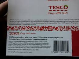 good tesco promo returns 100 clubcard points 240 avios with 20 gift card purchase
