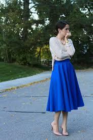 diy midi circle skirt