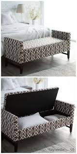 Padded Benches Living Room 25 Best Ideas About Upholstered Storage Bench On Pinterest Bed