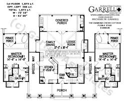 43 best floor plans images on pinterest log homes, log home Small House Plans With Wrap Around Porch diamond creek cottage house plan 07440 1st floor plan, cabin style house plans, small house plans with wraparound porches