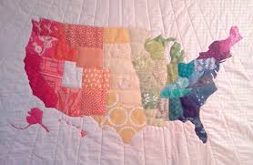 Crazy Old Ladies Quilts: Project --- ??? & Each month we rotate who's blocks we do. Rachel had November (we didn't  meet in Dec.) She had traced around each state on a map and had us choose  different ... Adamdwight.com
