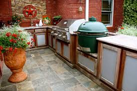 Outdoor Kitchen Designs With Smoker Peenmedia Com