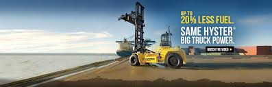 company forklift trucks including high capacity trucks new generation of tier 4 compliant engines in hysteracircreg big trucks