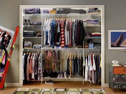 Organizing A Small Bedroom Closet Small Closet Organization Ideas Pictures Options Tips Hgtv