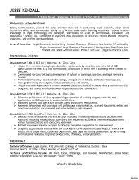 Secretary Resume Sample Legal Secretary Resume Therpgmovie 85