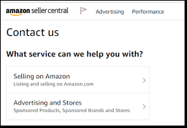 how to contact amazon seller support in