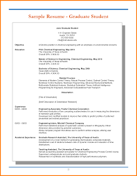 9 Graduate Student Resume Sample Pear Tree Digital