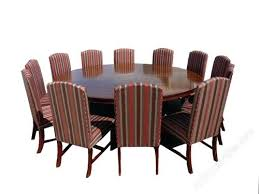large round dining table glass seats 10 with bench seating square room 12