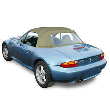 bmw z3 1996 2002 convertible soft top plastic window tan twillfast ii canvas bmw z3 1996 2002