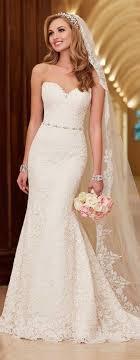 Elegant Lace Mermaid Wedding Dress Sexy Sweetheart Beading Band