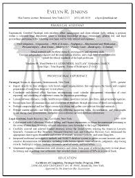 Litigation Paralegal Resume Cover Letter Httpwww Resumecareer Legal