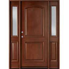 2 panel main door