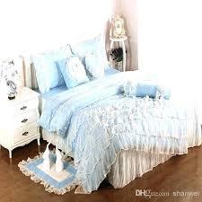 blue bedroom sets for girls. Light Blue Bedding Sets Baby Comforters Cotton Satin  Princess Lace Girl Duvet Cover Bedroom For Girls