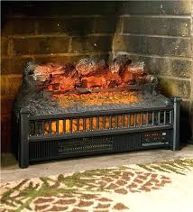 electric fireplace logs et inert no heater pleasant hearth with log inserts