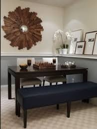chair rail in dining room darker color on top or bottom home decorating design forum gardenweb