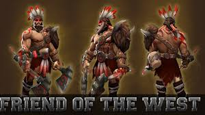 dota 2 items beastmaster friend of the west set review youtube