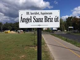 Tribute to Ángel Sanz Briz