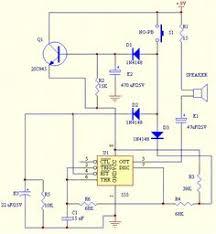 circuit diagram of 2 tone door bell ruud (elektronica How To Wire A Doorbell Diagram door bell chime circuit how to wire a doorbell transformer diagram